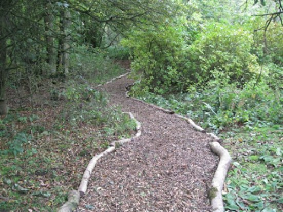Nunckley Trail renovated path