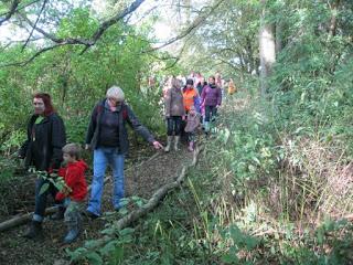 Nunckley Trail visitors