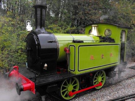 Freshly overhauled NER 1310 from the Middleton Railway