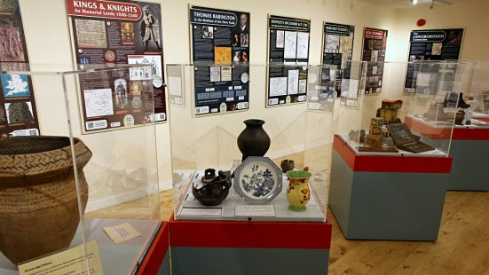 Heritage Room Exhibits