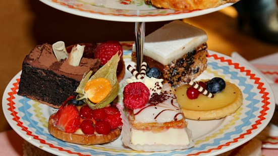 Granites afternoon tea - cakes