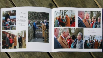 Pages from the photobook