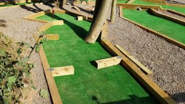 Crazy Golf Hole 4