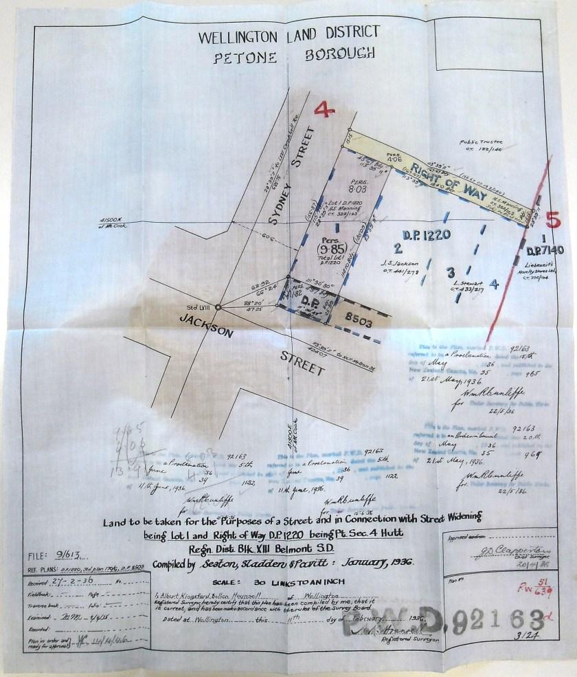 jackson st 1936 map