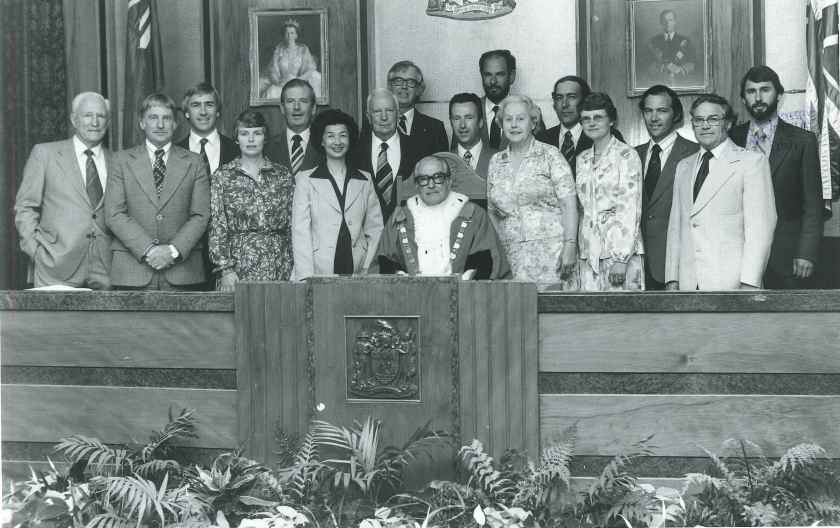 1980 city council inaugural meeting