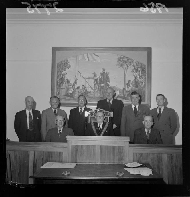 mayor huggan 1956