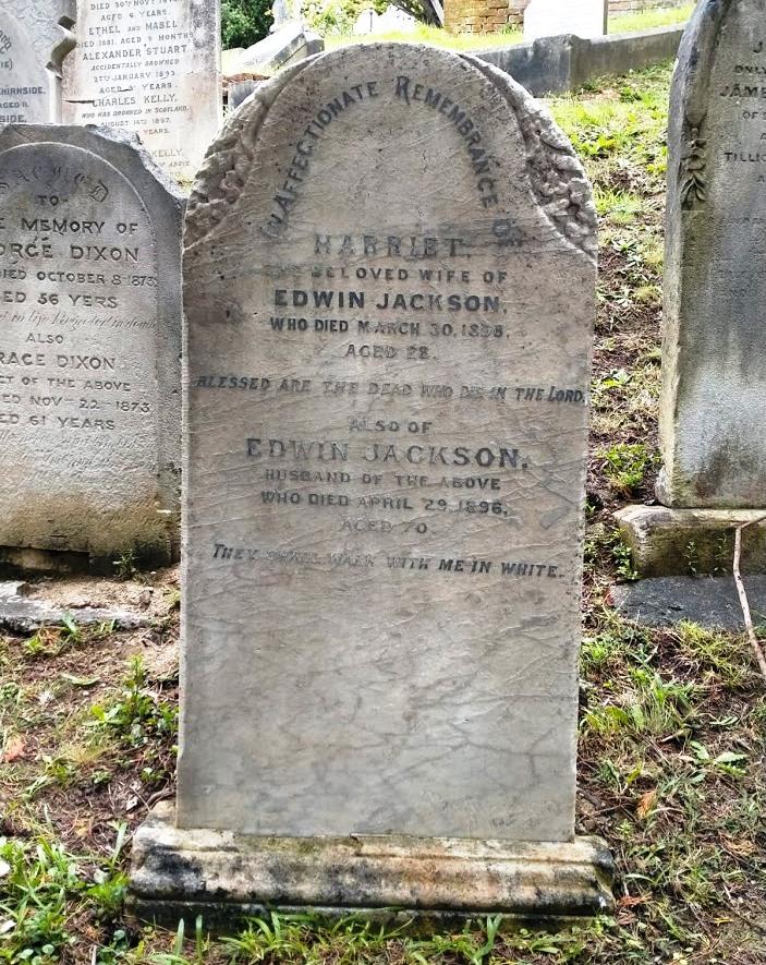 edwin jackson gravestone