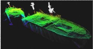 SS Richard Montgomery laser scanning & multibeam sonar data 2009
