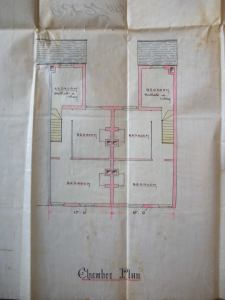 First Floor Plan. G24/760/791 Copyright Swindon Borough Council, care of Wiltshire and Swindon Archives.