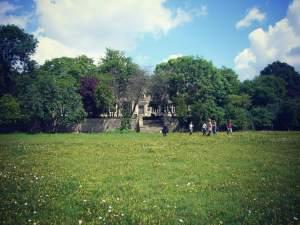 Our designation advisers at Ashton Wold Estate, Northamptonshire. © English Heritage