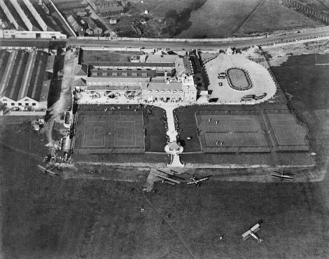EPW000010, Claude Grahame-White's London Country Club, Hendon, 12 September 1919