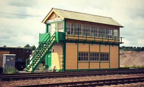 8754 Bury St Edmunds Signalbox 22 June 2006