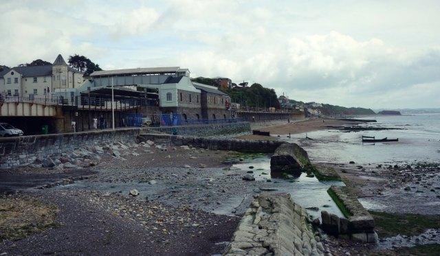 Seafront at Dawlish, Devon