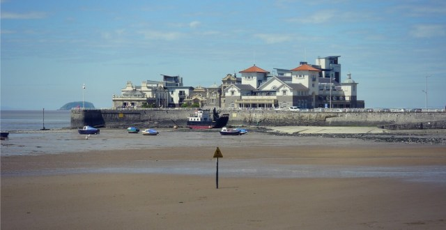 Knightstone Island, Weston-super-Mare, Somerset
