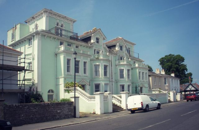 Elegant 19th-century villas at Seaview, Isle of Wight