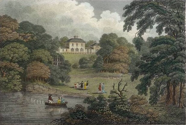 The_Leasowes, 1811 Wikimedia Commons