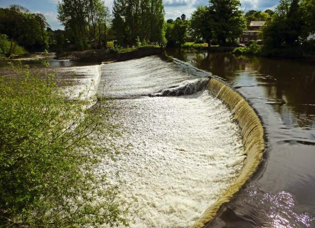 Darley Abbey Weir _Copyright HE adviser photo