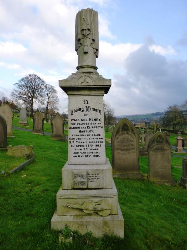 Wallace Hartley Gravestone, Copyright HE adviser photo