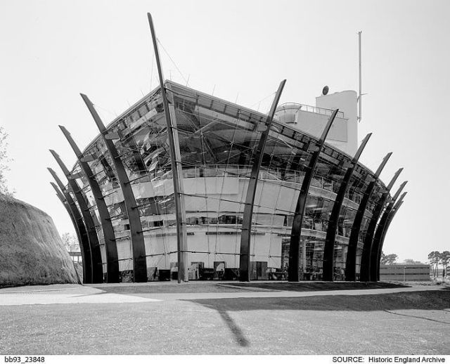 Plymouth's recently listed Western Morning News building © Historic England Archive