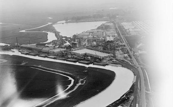 Lost port of Richborough, Kent (Aerofilms EPW000660)