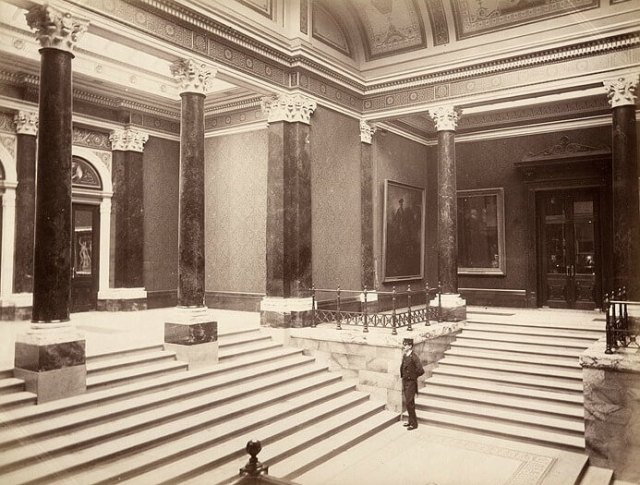 Inside the National gallery