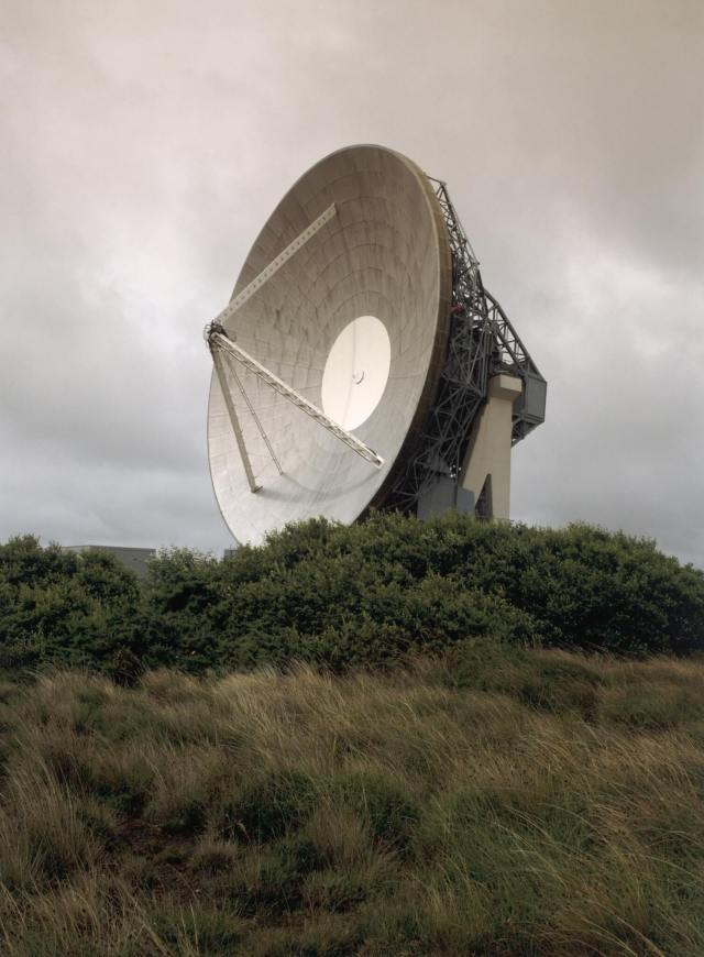 BT EARTH SATELLITE STATION B3293 Goonhilly Downs Cornwall Antenna No 1