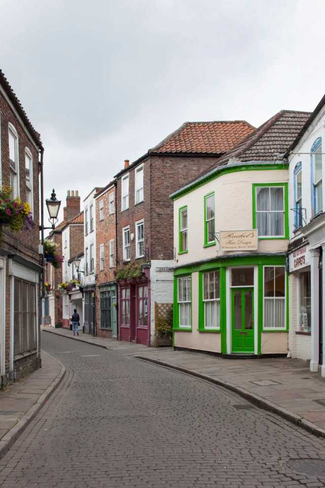 Wormgate, Boston, Lincolnshire for Boston Book. General view from south.