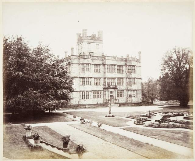 Archive image of Gawthorpe Hall (c) Historic England Archive