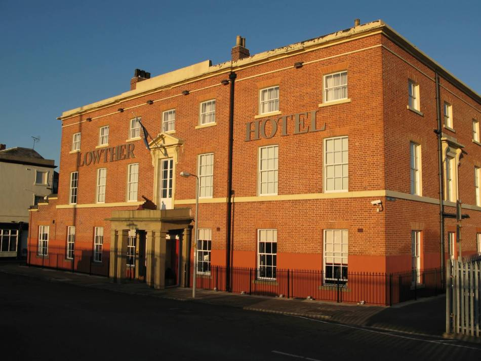 Lowther Hotel completed, Goole - Julie and Howard Duckworth