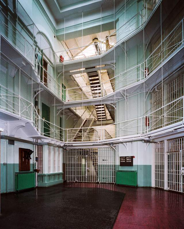 Interior Panopticon, HMP Pentonville, Greater London, Islington