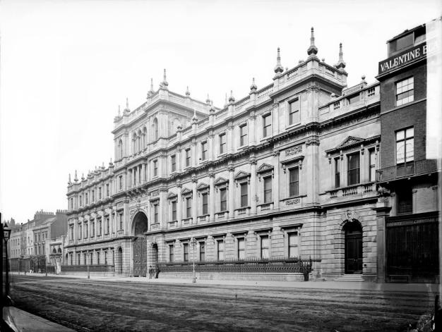 Burlington House front c HE 1872- 1900