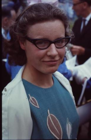 Jocelyn Bell Burnell (1967)Credit Roger Haworth