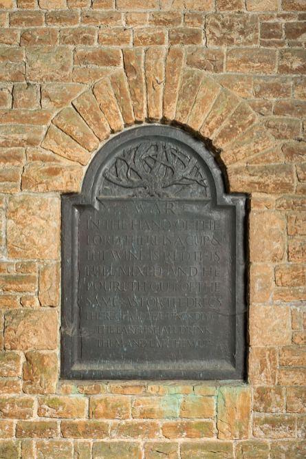 Blackmoor War Plaque
