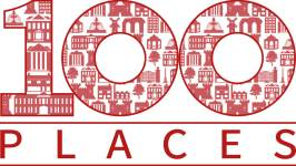 100 Places logo