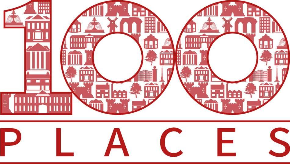 100 Places logo