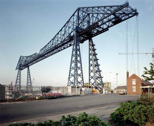 Tees Transporter Bridge (c) Historic England