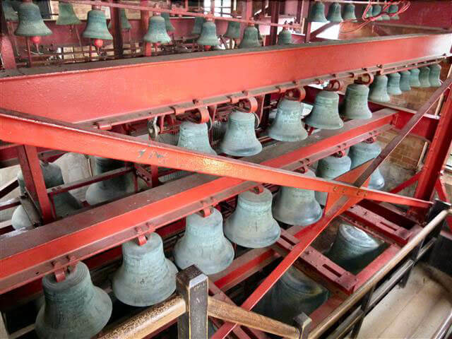 loughborough carillon tower bells c peter minshall