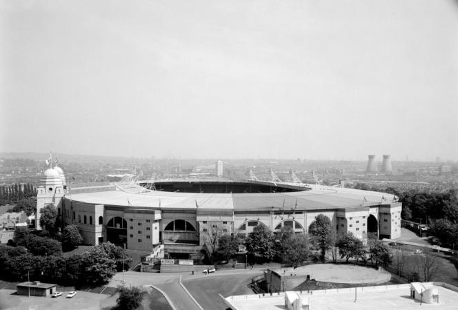 Wembley Stadium 1923 c Historic England Archive AA74_00096