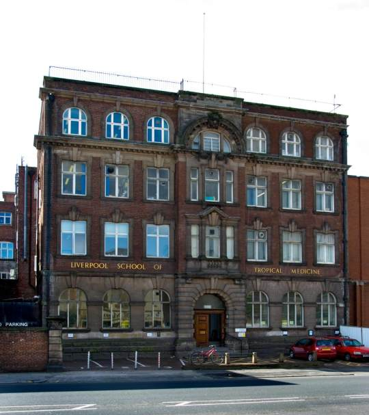 School of Tropical Medicine, Pembroke Place, Liverpool, Merseyside.