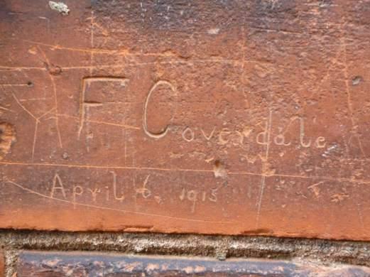 Soldiers graffiti, Beverley