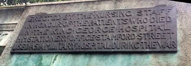 hm stationery office churchyard plaque NH