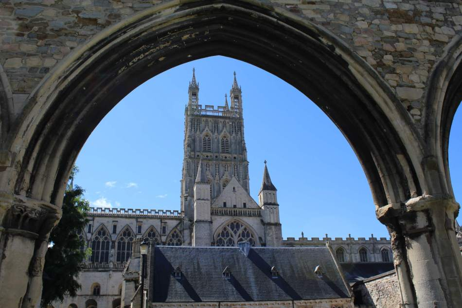 Gloucester Cathedral external view