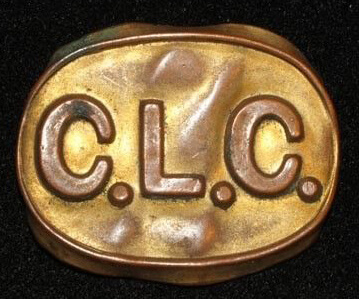 chinese labour corps cap badge