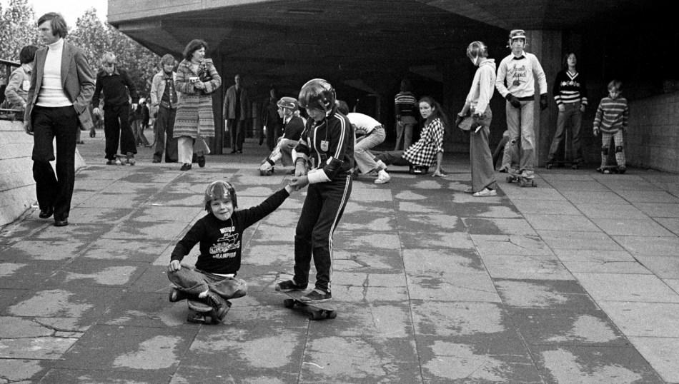Southbank 1976 by Brian Gittings