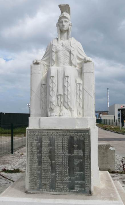 Bevan's Cement Works War Memorial, Northfleet, Kent.