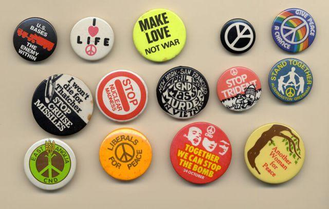 Greenham Common badges