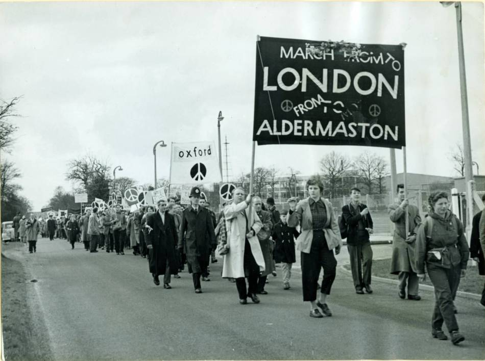 CND March Aldermaston to London via flickr