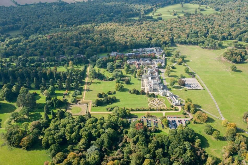 Oblique aerial view of Ashridge c Historic England - Copy