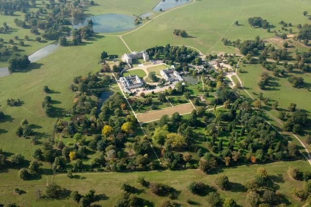 Woburn Abbey landscape park c Historic England