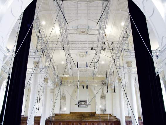 Circomedia at St Paul's church, Bristol. - image courtesy of Circomedia